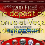 140 no deposit casino bonus at Vegas Country Casino