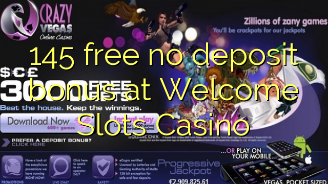 free no deposit casino welcome bonus