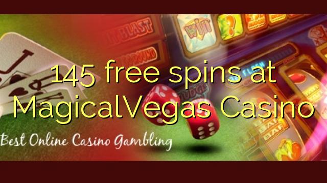 145 free spins på MagicalVegas Casino