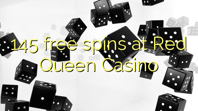 145 gratis spins på Red Queen Casino