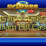 145 free spins at William Hill Casino