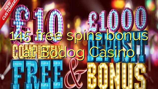 145 gratis spins bonus på Bodog Casino