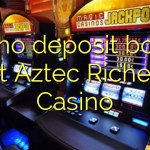 145 no deposit bonus at Aztec Riches Casino