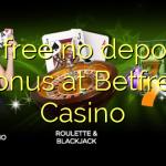 15 free no deposit bonus at Betfred Casino
