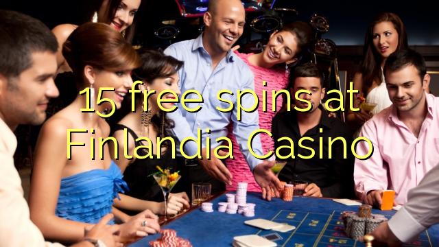 15 Freispiele bei Finlandia Casino