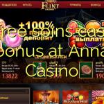 15 free spins casino bonus at Anna Casino