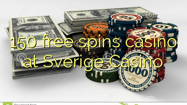 150 озод spins казино дар Sverige Казино