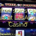 150 free spins casino bonus at LesACasino Casino