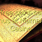 150 free spins casino bonus at Mamamia Casino