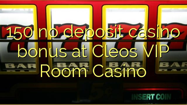 cleos vip casino no deposit bonus
