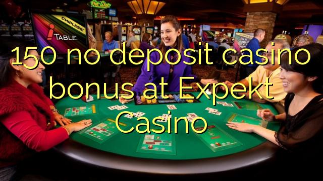150 ingen insättning kasino bonus på Expekt Casino