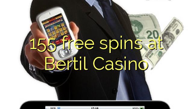 Bertil Casino 155 pulsuz spins