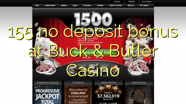 buck butler casino