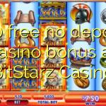 160 free no deposit casino bonus at BitStarz Casino
