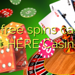 160 free spins casino at HERE Casino