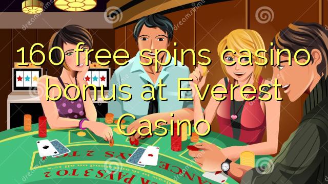 Everest Casino-da 160 pulsuz casino casino bonusu