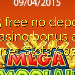 165 free no deposit casino bonus at Sunset Slots Casino