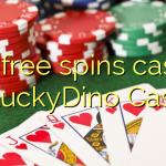 165 free spins casino at LuckyDino Casino