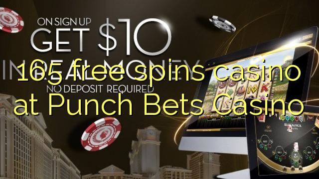 165 bébas spins kasino di Punch bets Kasino