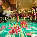 170 free no deposit bonus at EuroSlots Casino