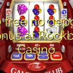 170 free no deposit bonus at Rockbet Casino