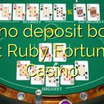 170 no deposit bonus at Ruby Fortune Casino