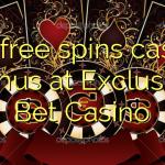 175 free spins casino bonus at Exclusive Bet Casino