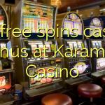 175 free spins casino bonus at Karamba Casino