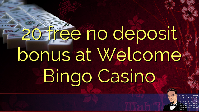 Online casino free welcome bonus no deposit