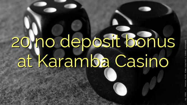 karamba online casino bonus code