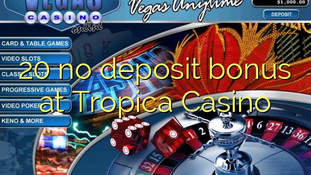 tropica casino bonus code