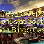 25 free no deposit bonus at South Beach Bingo Casino