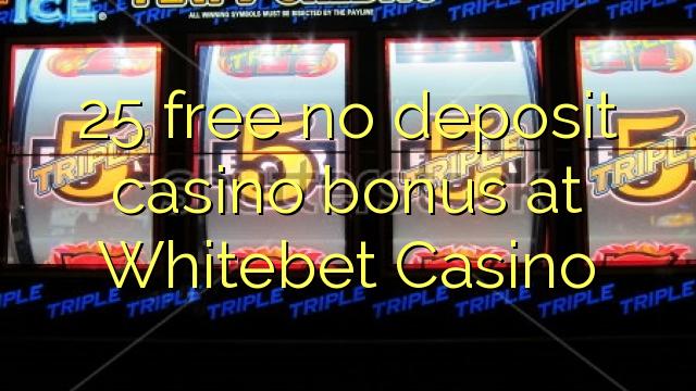 25 uwolnić bez depozytu kasyno w Redbet Casino