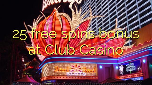 crazy casino club 25 free spins