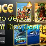 25 no deposit bonus at Rizk Casino