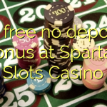 30 free no deposit bonus at Spartan Slots Casino