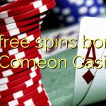 30 free spins bonus at Comeon Casino