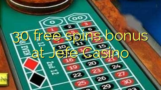 no deposit bonus jefe casino