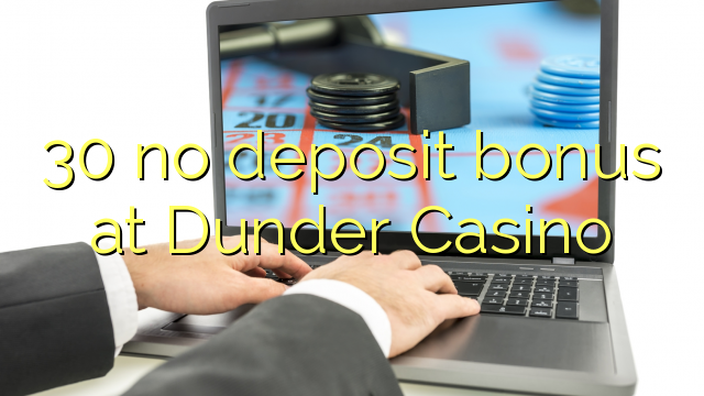 dunder casino ВЈ19 no deposit
