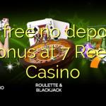 35 free no deposit bonus at 7 Reels Casino