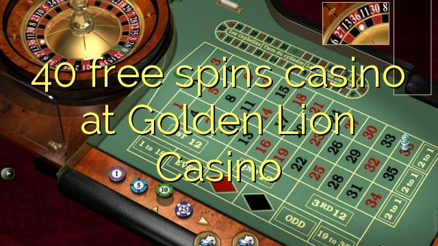 golden lion casino free spins