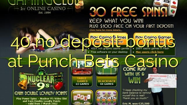 punch bets casino no deposit bonus
