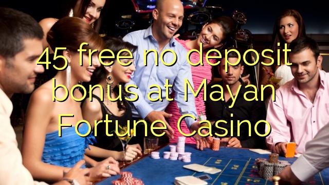 45 libirari ùn Bonus accontu à all'entrata Fortune Casino