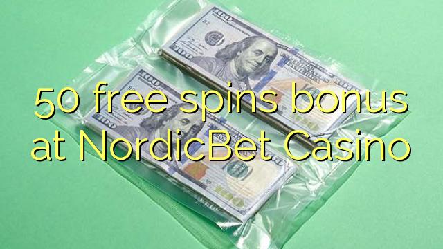 NordicBet Casino-da 50 pulsuz spins bonusu