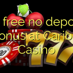 60 free no deposit bonus at Caribic Casino