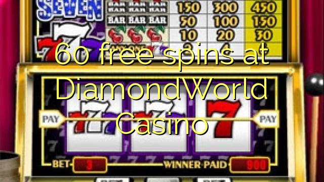 spins озод 60 дар DiamondWorld Казино