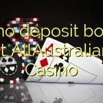 60 no deposit bonus at AllAustralian Casino