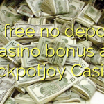 65 free no deposit casino bonus at Jackpotjoy Casino