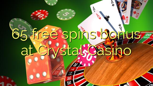 65 bébas spins bonus di Kristal Kasino