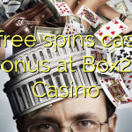 65 free spins casino bonus at Box24 Casino